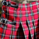 patron couture kilt ecossais