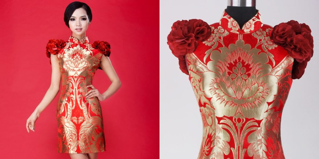 Patron de couture robe chinoise