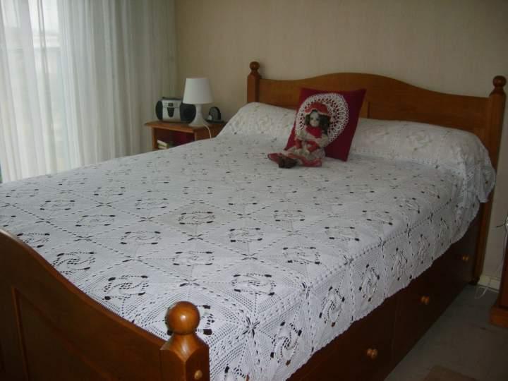 modele en couture de couvre lits