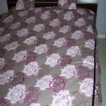 modèle en couture de couvre-lits