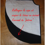 patron couture gratuit cape zorro