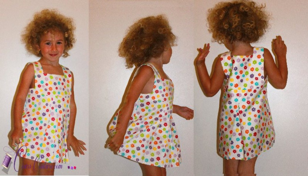Patron Couture Gratuit Robe Fille 10 Ans : Tuto couture robe fille