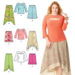 patron couture gratuit robe grande taille