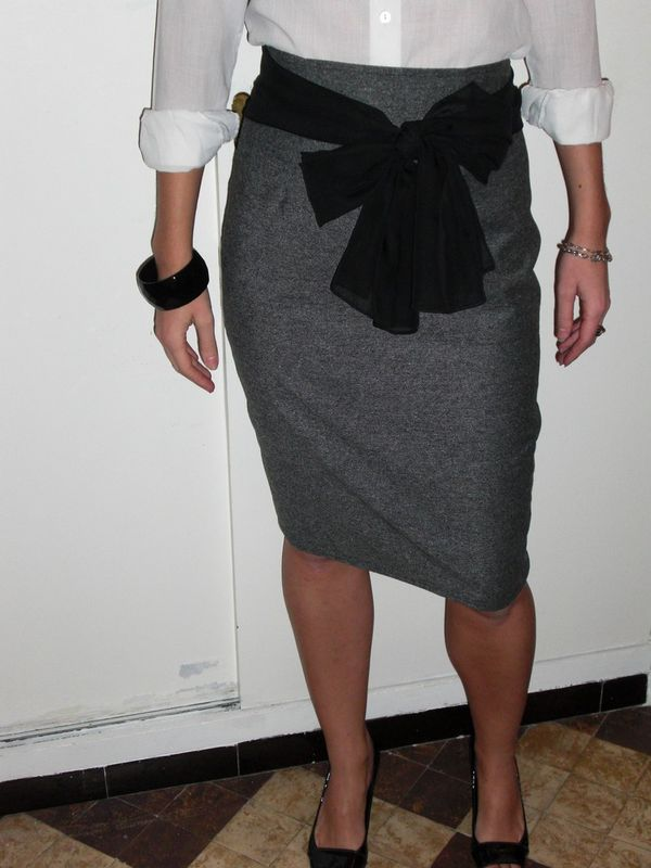 Patron couture jupe crayon 11 - Patron couture jupe droite ...