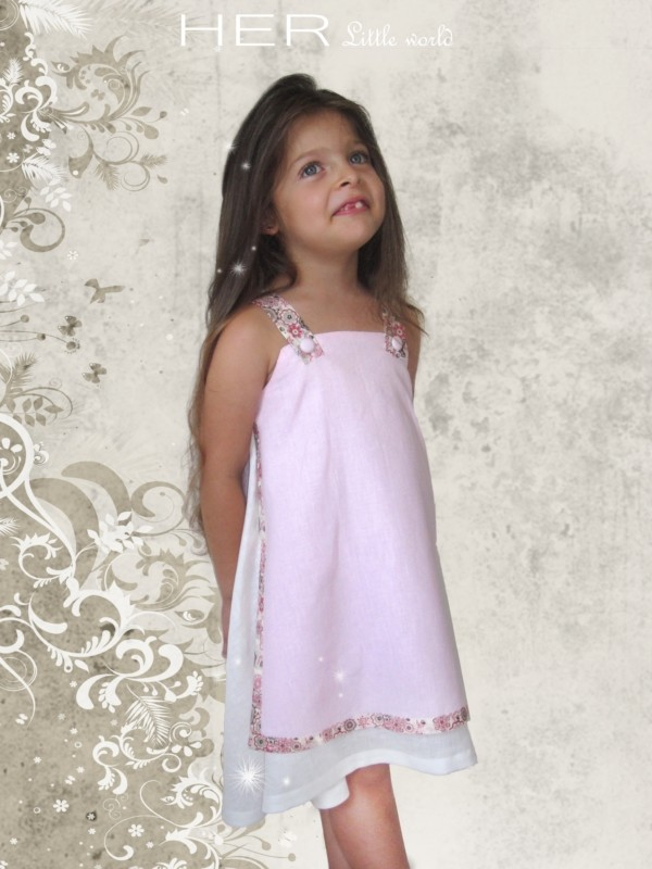 Patron couture robe fille 4 ans for Couture a 4 ans