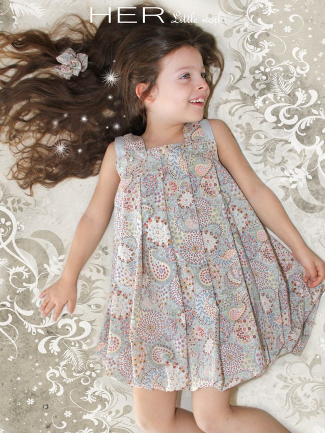 patron couture robe fille 4 ans 6 ForCouture A 4 Ans