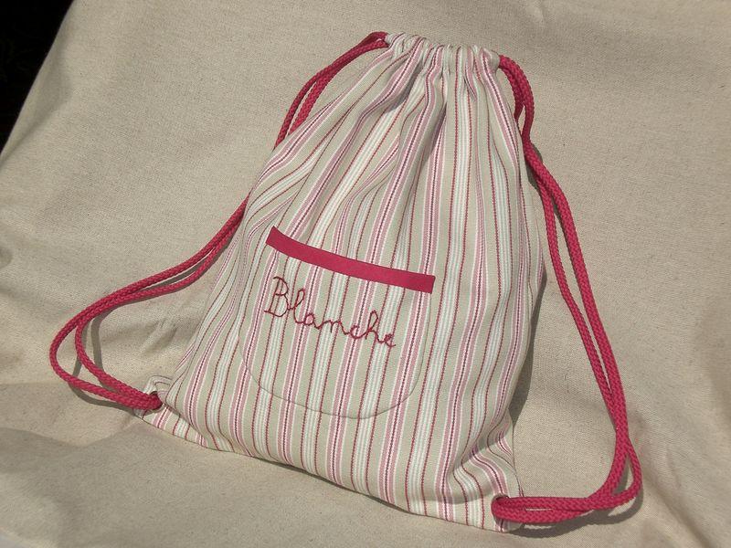 patron couture sac à dos