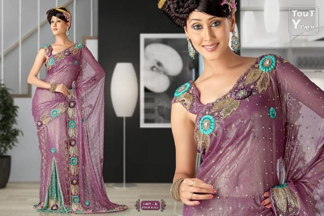 patron couture robe indienne