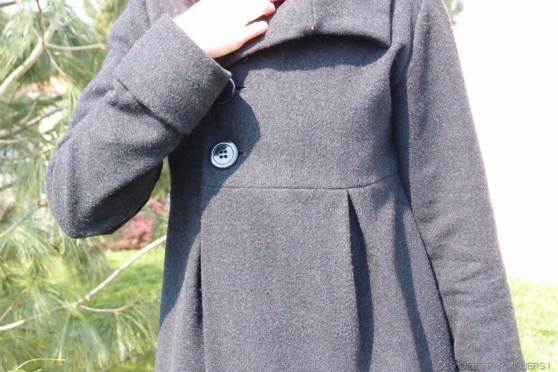 Top couture veste longue CI52