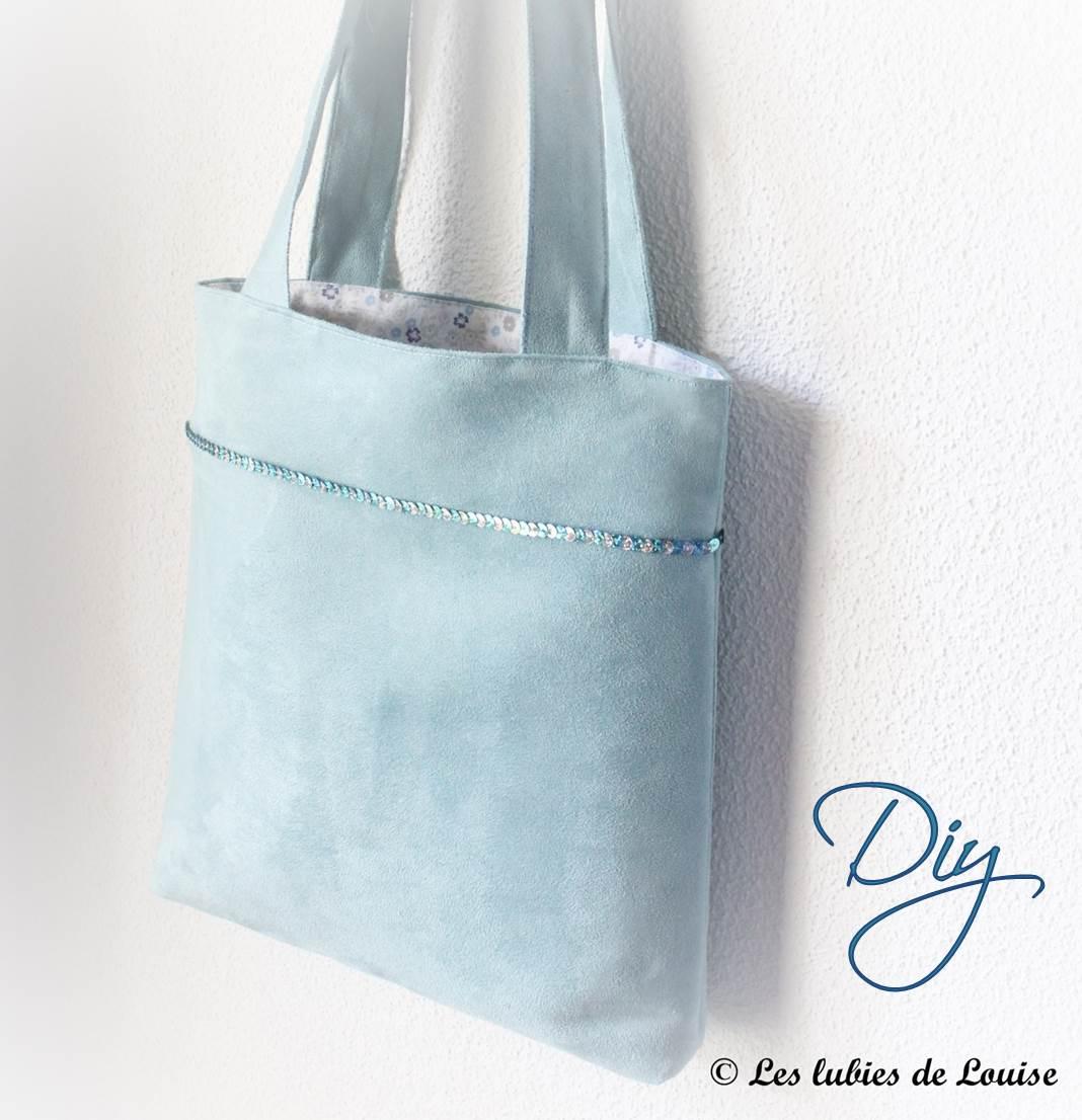 patron couture sac a paillettes