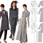 modèle couture manteau femme