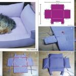 modèle couture panier chien