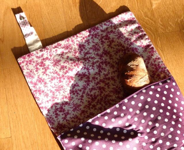 Patron couture sac a pain - Sac a pain tissu ...
