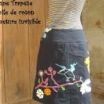 patron couture gratuit jupe