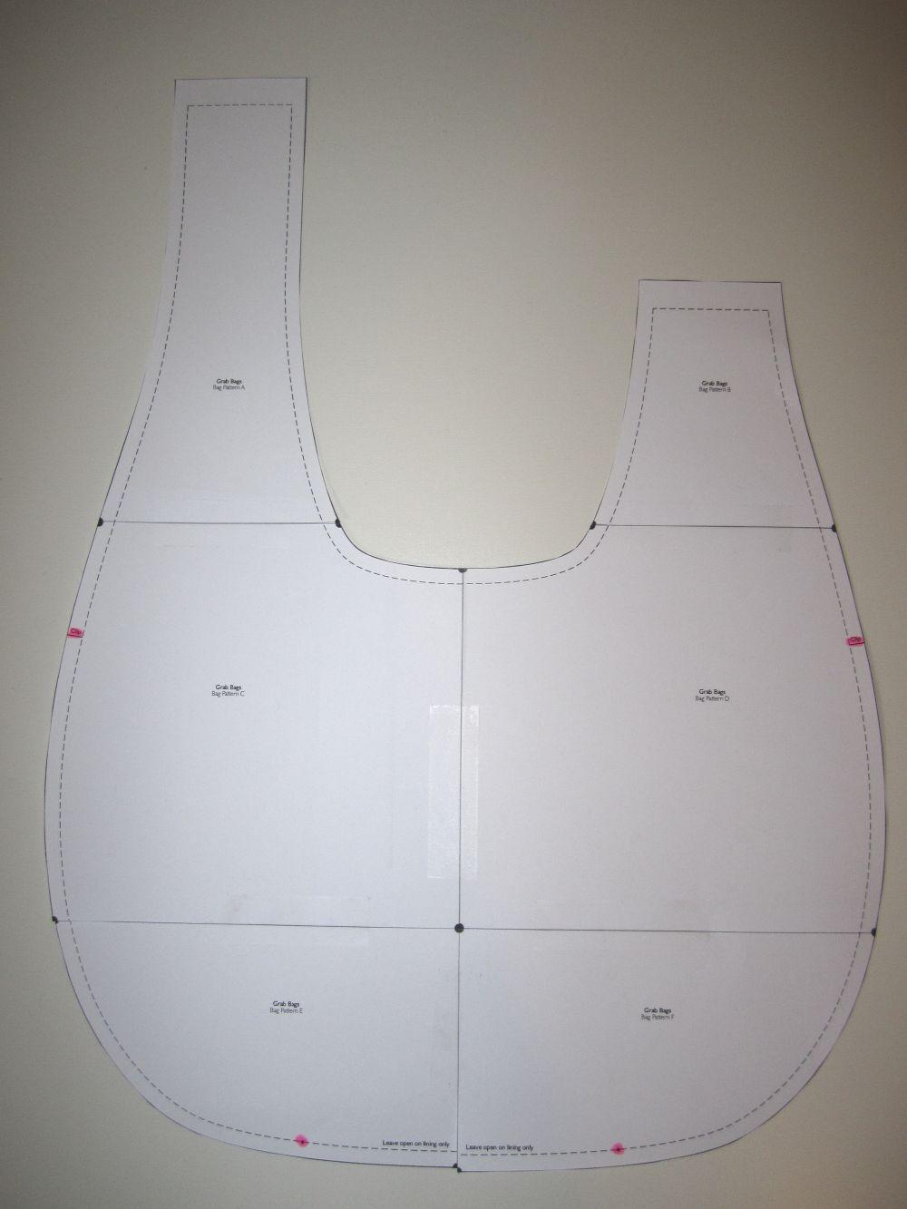 patron couture gratuit sac a main 16. Black Bedroom Furniture Sets. Home Design Ideas