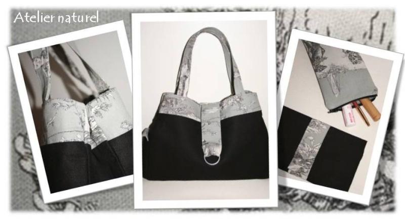 Modèle De Sac à Main Gratuit : Patron couture gratuit sac a main