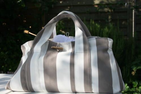 tutoriel couture sac de plage. Black Bedroom Furniture Sets. Home Design Ideas