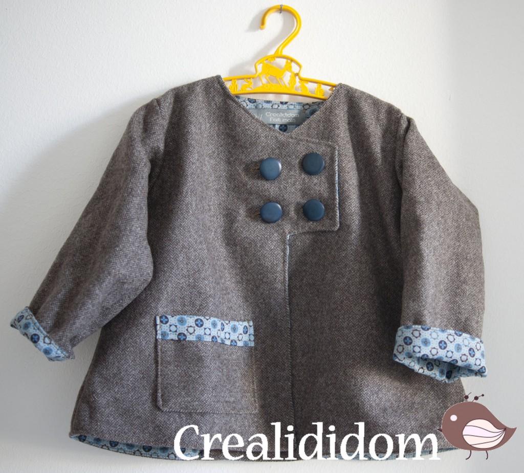 Patron couture manteau b b fille 17 for Malette couture pour fille