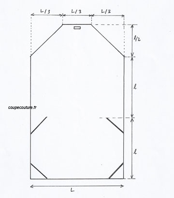 patron couture pochette 13. Black Bedroom Furniture Sets. Home Design Ideas