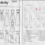 patron couture robe longue