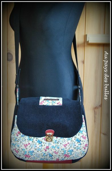 Tutoriel couture besace - Tuto sac bandouliere ...