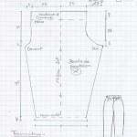 patrons couture facile femme pantalon