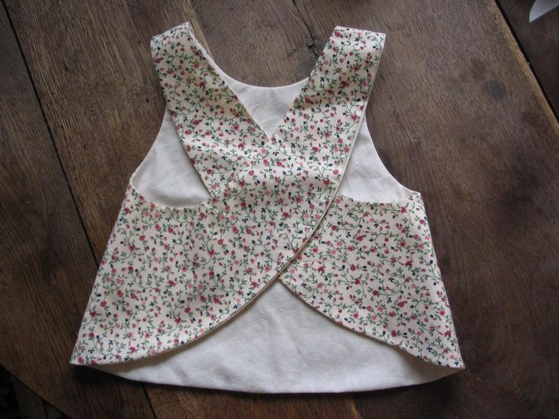 Couture facile fille 9 for Tablier de cuisine pour petite fille