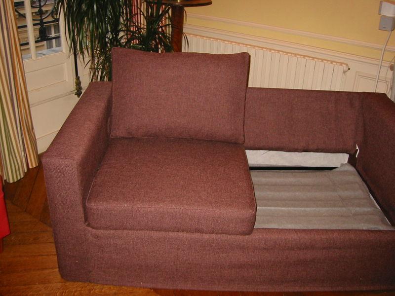 housse de canapé avec coussin Coudre Une Housse De Canapé   Intérieur Déco housse de canapé avec coussin
