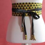 tuto couture ceinture