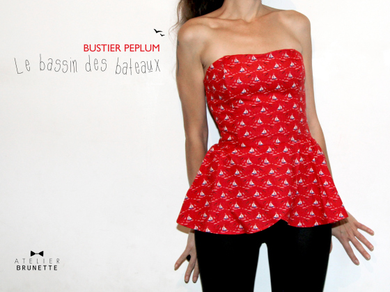 couture facile bustier