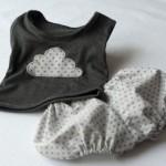 couture facile vetement bébé