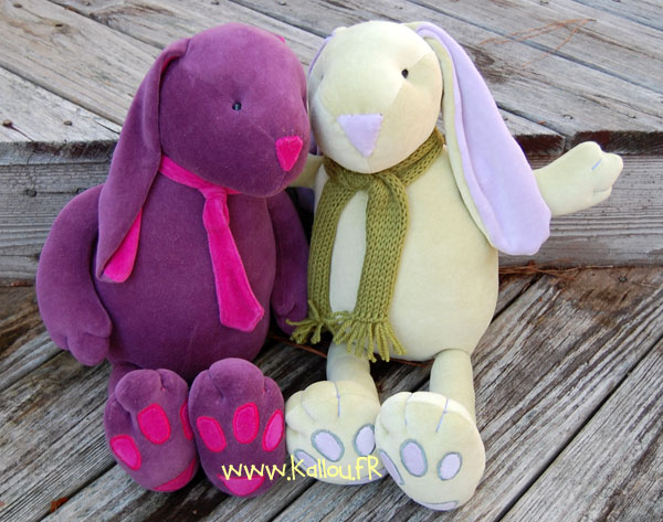 tuto couture lapin paques