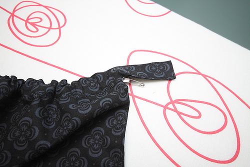 tuto couture echarpe de portage