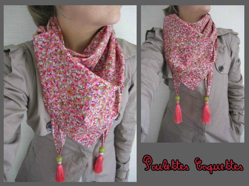 ... tutoriel couture foulard triangle f268a32ed7e
