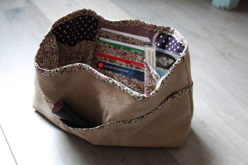 Tuto couture organiseur de sac - Tuto organisateur de sac ...