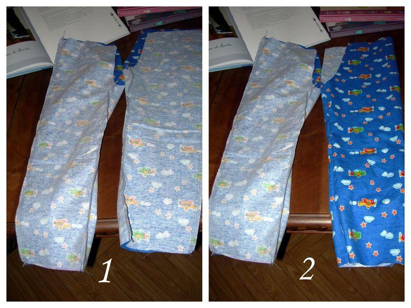Couture facile faire un pantalon 4 - Faire un ourlet de pantalon ...