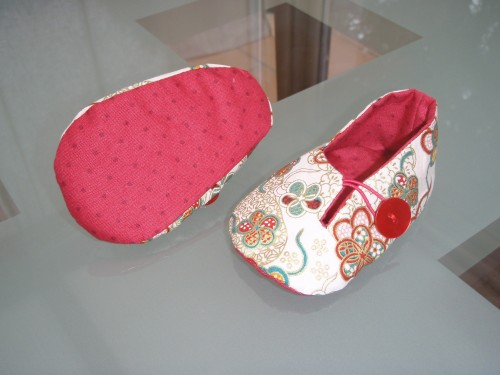 Tuto couture chaussons b b 14 - Patron pour chausson bebe ...