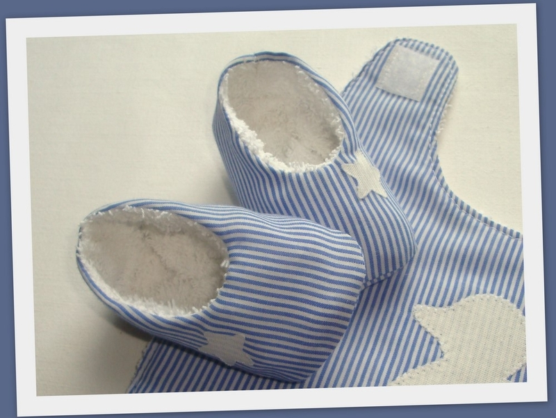 Tuto couture chaussons b b 7 - Patron pour chausson bebe ...