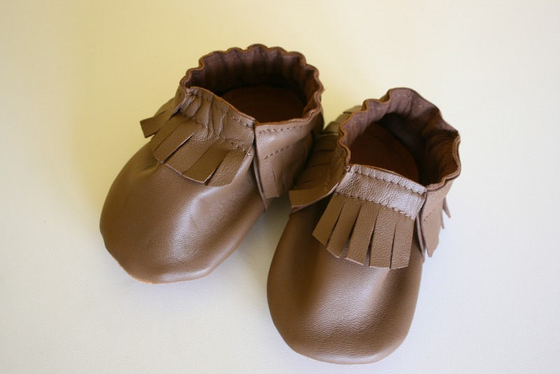 Tuto couture chaussons b b 9 - Tuto chausson bebe couture ...