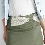 tuto couture jupe droite