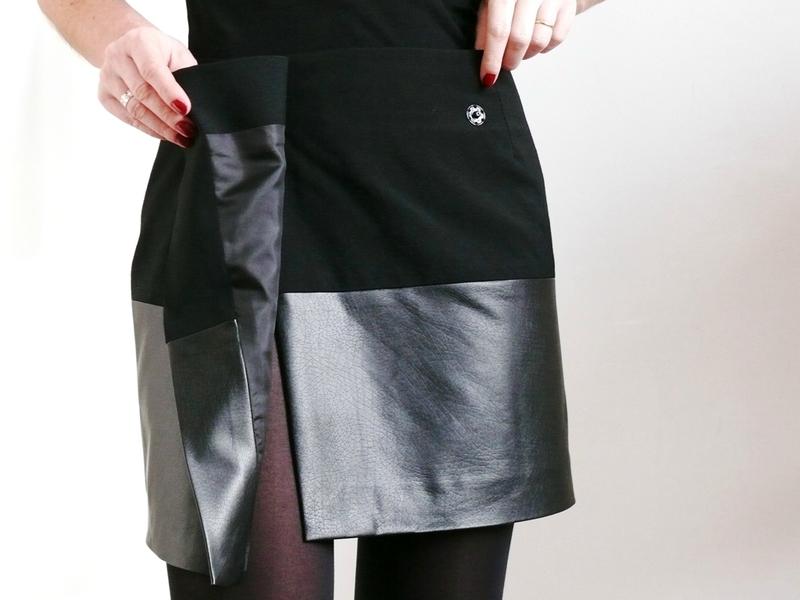 Tuto couture jupe droite 9 - Patron couture jupe droite ...