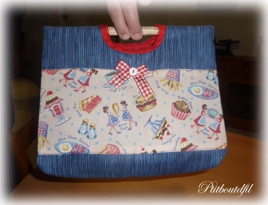 tuto couture lunch bag. Black Bedroom Furniture Sets. Home Design Ideas