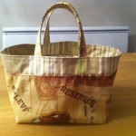 tuto couture lunch bag