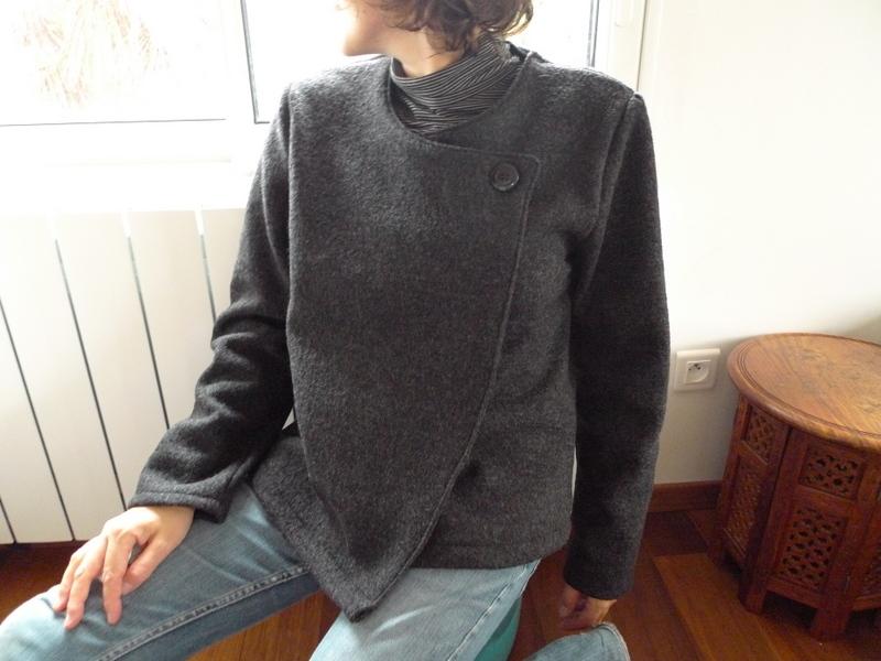 tuto couture veste kimono 6. Black Bedroom Furniture Sets. Home Design Ideas