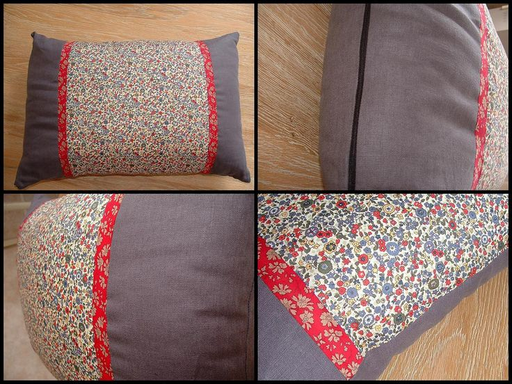 Tuto couture coussin for Patron housse coussin rectangulaire