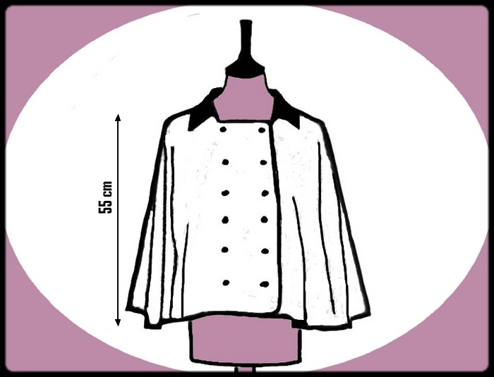 patron couture cape femme