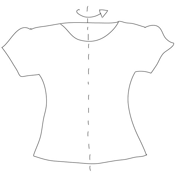 patron couture facile gratuit à télécharger