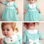 patron couture gratuit bébé fille