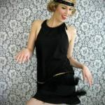 patron couture gratuit robe charleston