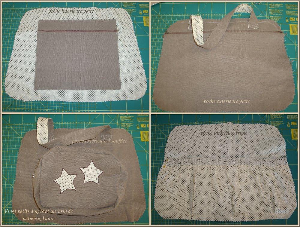 Ideal patron couture gratuit sac a langer RY75